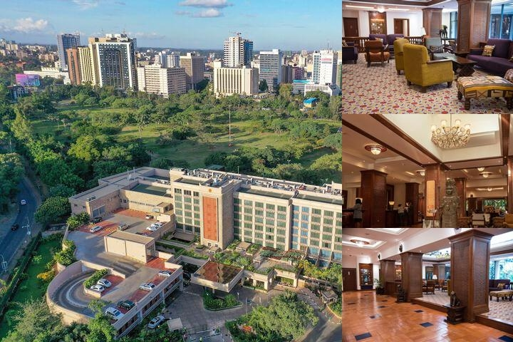 Nairobi Serena Hotel photo collage