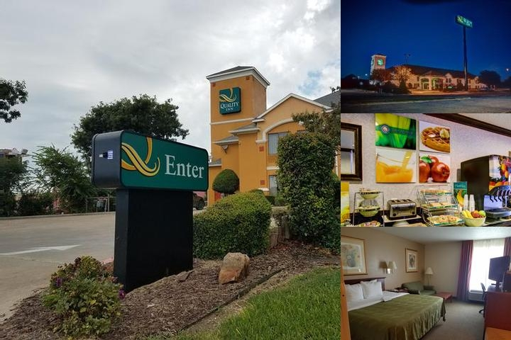 Quality Inn Hillsboro Texas photo collage