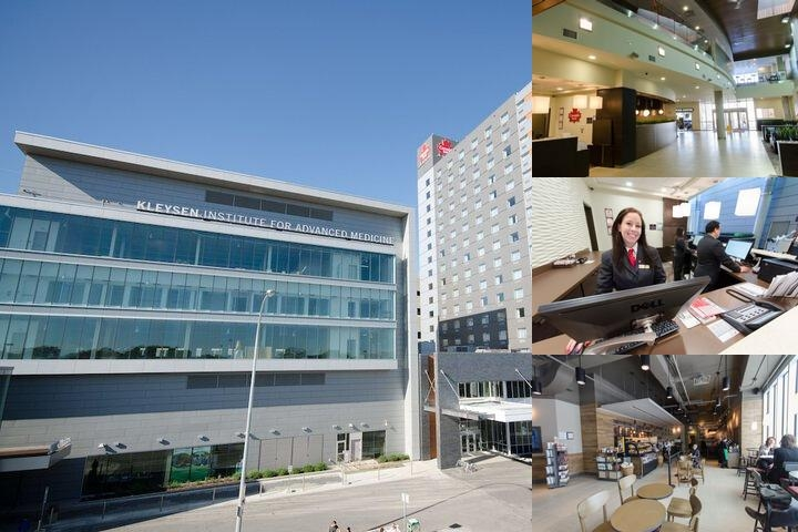 Canad Inns Destination Center Health Sciences photo collage