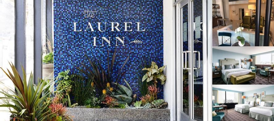 Laurel Inn photo collage