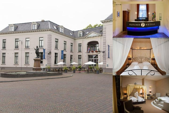 Fletcher Hotel Paleis Stadhouderlijk Hof photo collage