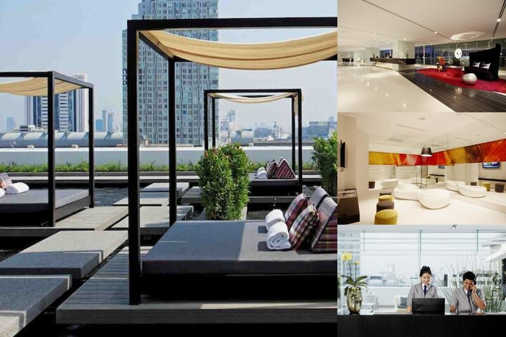 Centara Watergate Pavillion Hotel Bangkok photo collage