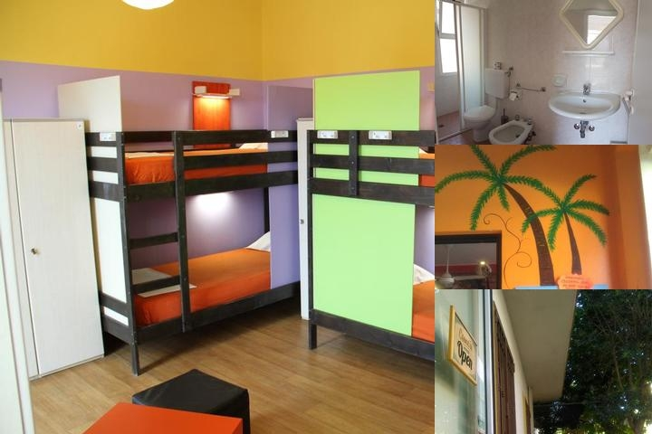Jammin Hostel Rimini photo collage