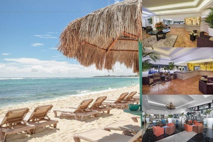 Grand Oasis Tulum photo collage