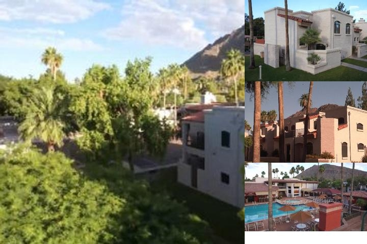 Scottsdale Camelback Resort photo collage