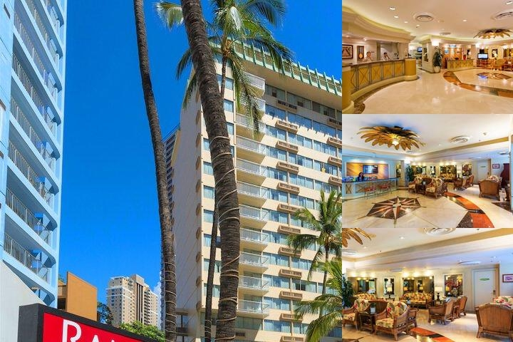 Ramada Plaza Waikiki photo collage