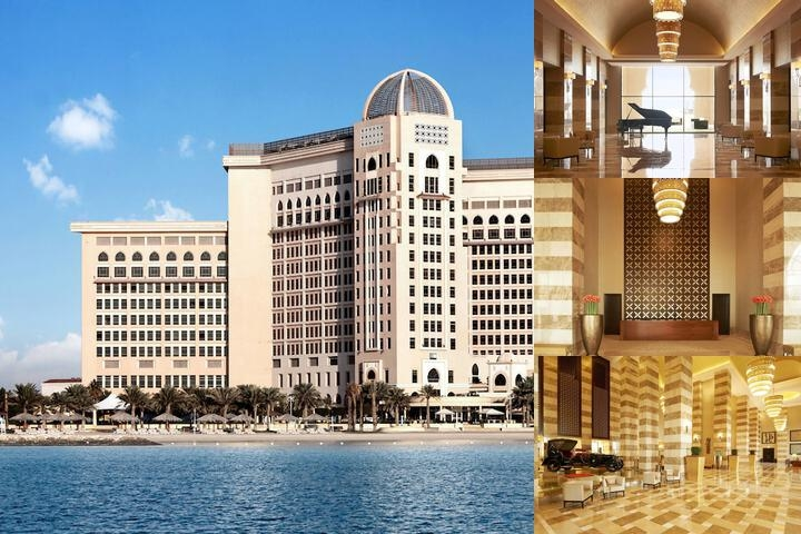 The St. Regis Doha photo collage