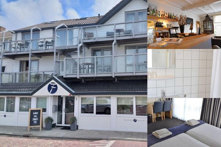 Fletcher Badhotel Egmond Aan Zee photo collage