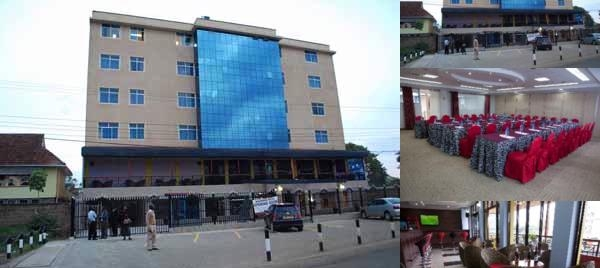Mashpark Hotel Nairobi photo collage