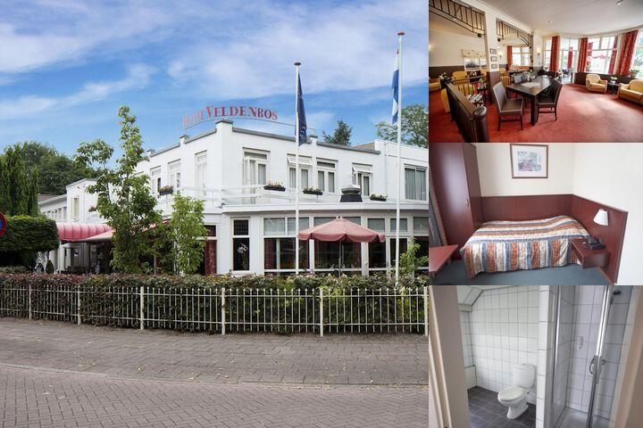 Fletcher Hotel Veldenbos photo collage