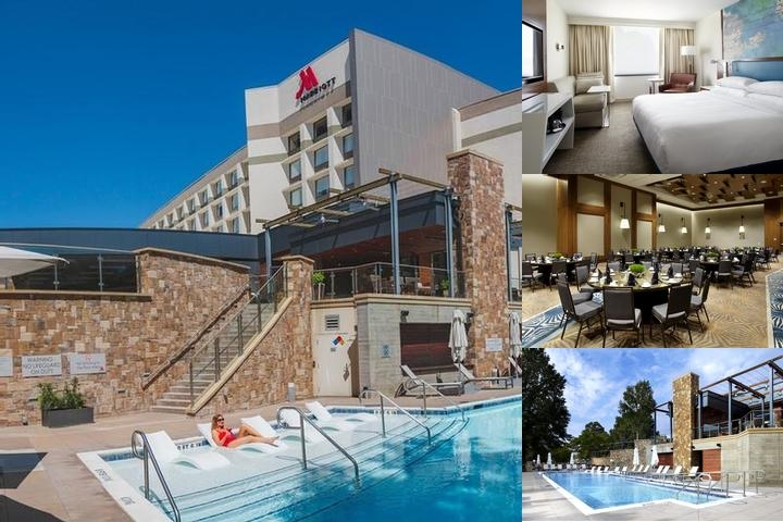 Raleigh Marriott Crabtree Valley photo collage