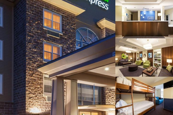 Holiday Inn Express Deer Lake photo collage