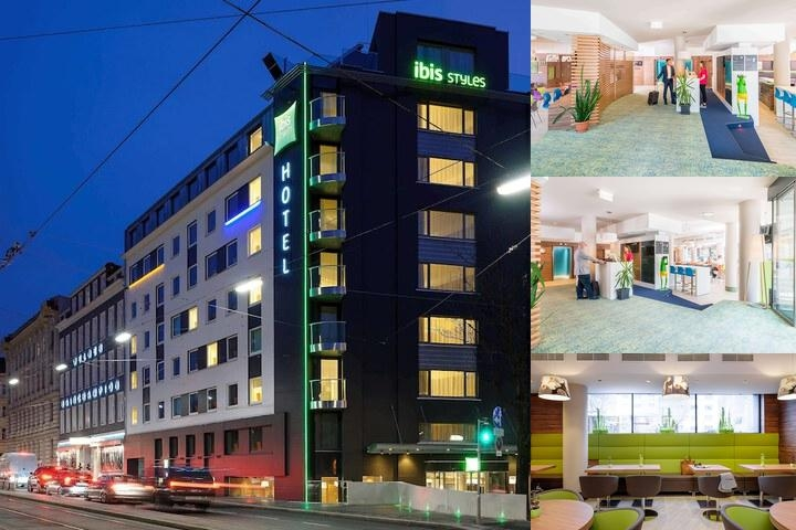 Ibis Styles Wien City photo collage