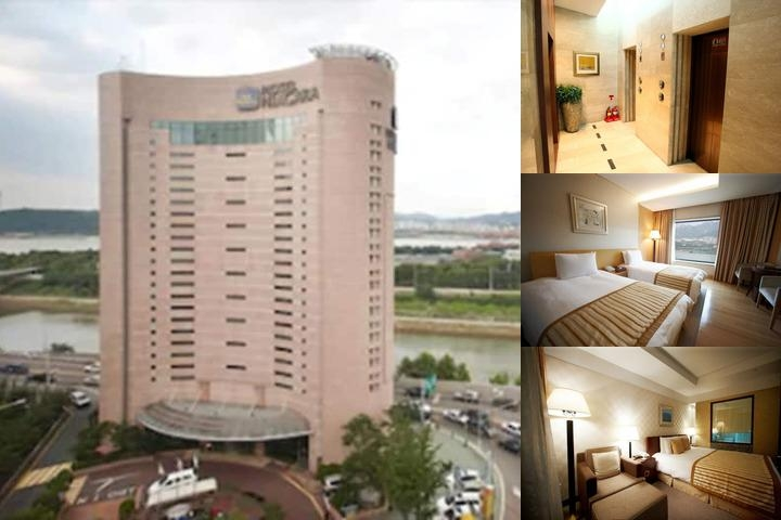 Niagara Hotel photo collage