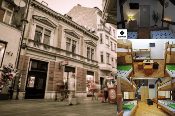 Hostel Vagabond photo collage