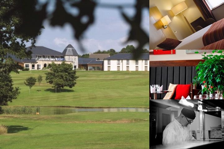 Lanhydrock Hotel photo collage