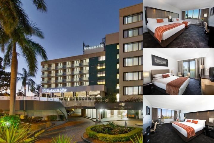 Watermark Hotel Brisbane photo collage