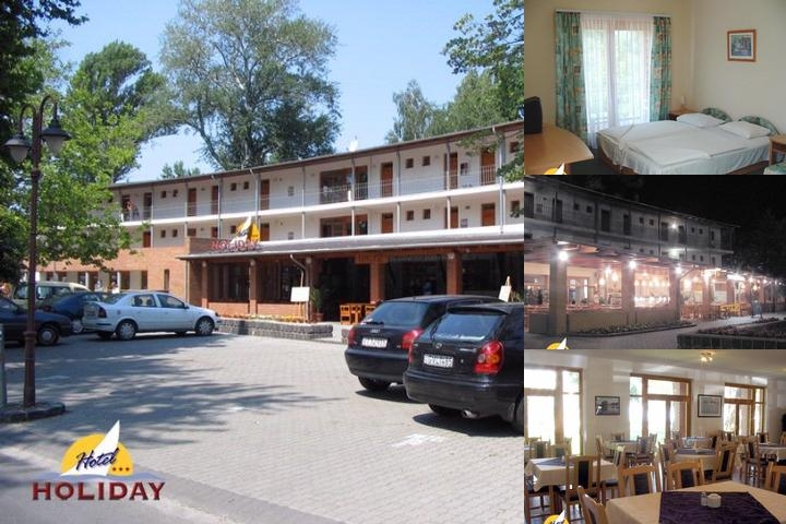 Hotel Holiday Siófok photo collage