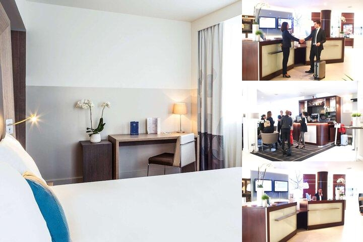 Novotel Rennes Centre Gare Re photo collage