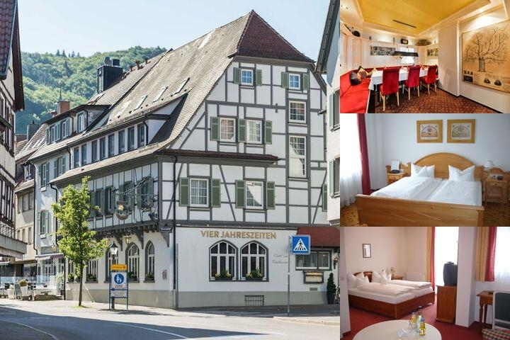 Flair Hotel Vier Jahreszeiten Bad Urach photo collage