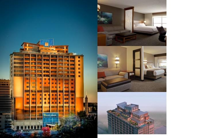 Hyatt Place Charlotte Downtown photo collage