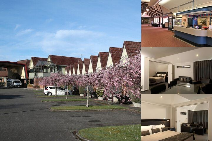 Ascot Park Hotel photo collage