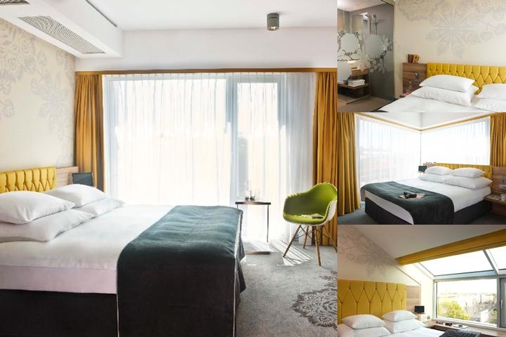 Puro Hotel Krakow photo collage