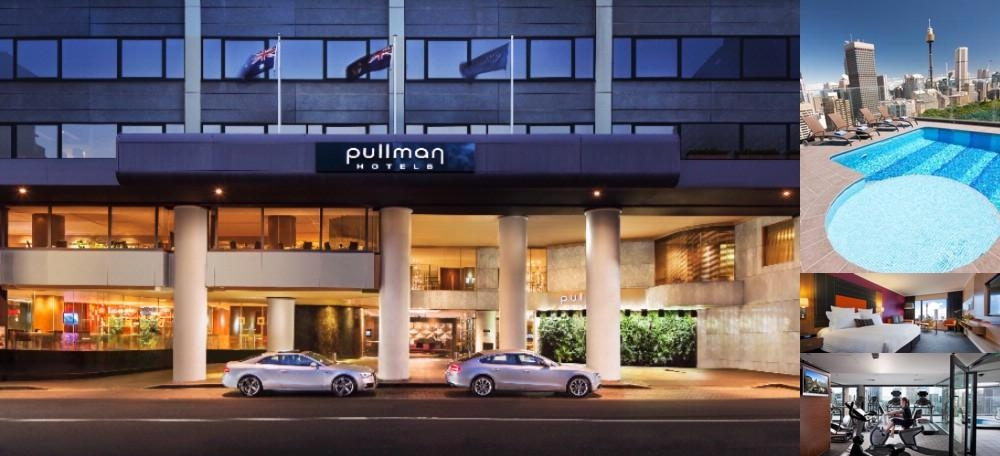 Pullman Sydney Hyde Park photo collage