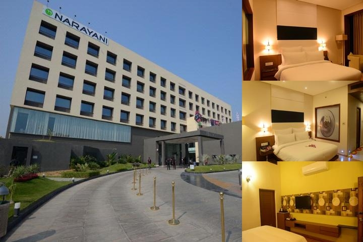 Narayani Heights Hotel & Resort photo collage