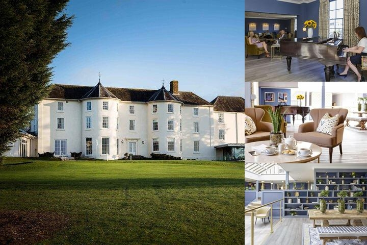 Tewkesbury Park Hotel photo collage