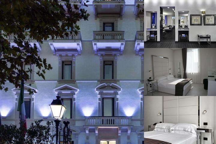 Hotel Montecatini Palace photo collage