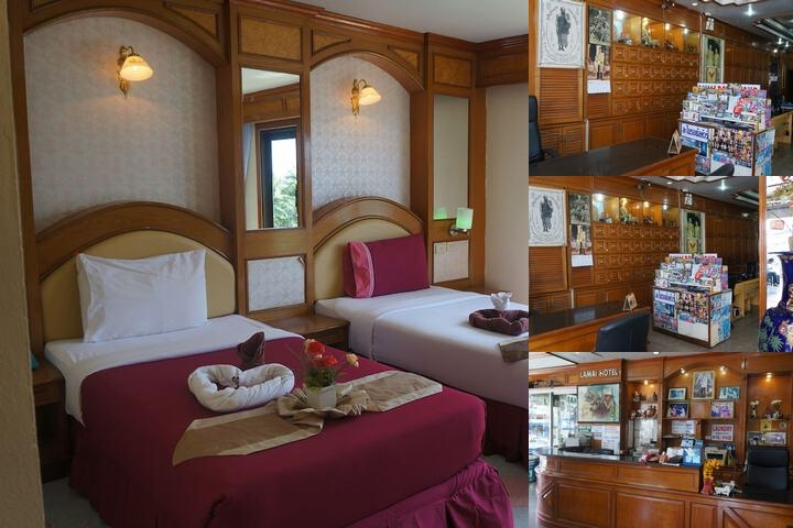 Lamai Hotel photo collage