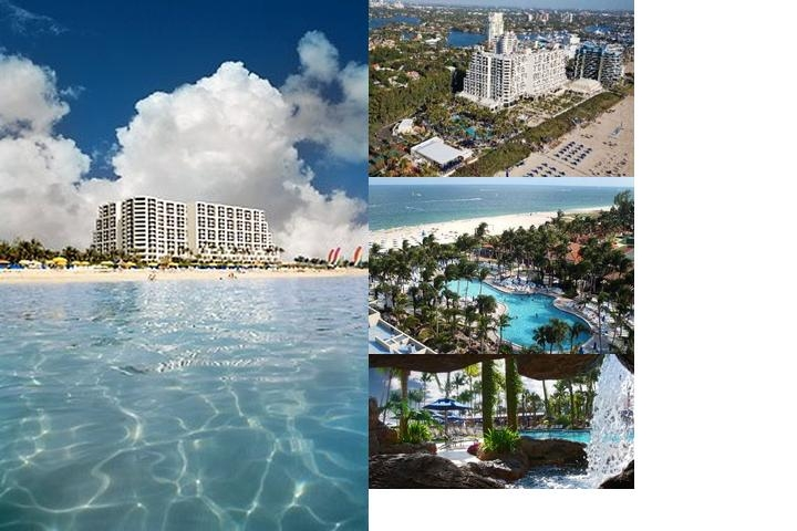 Harbor Beach Marriott Resort photo collage