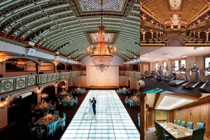 Millennium Knickerbocker Hotel photo collage