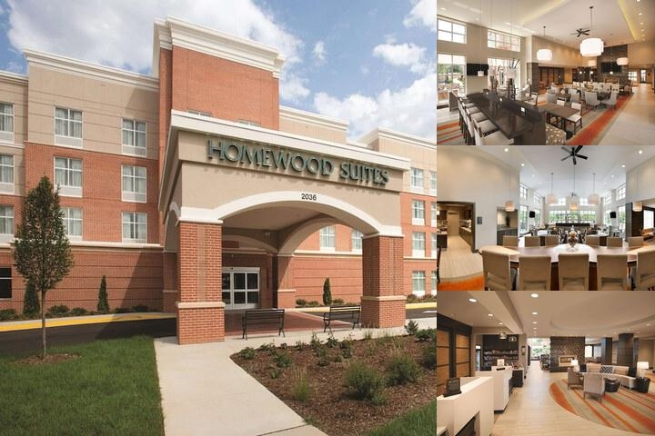 Homewood Suites by Hilton Charlottesville photo collage