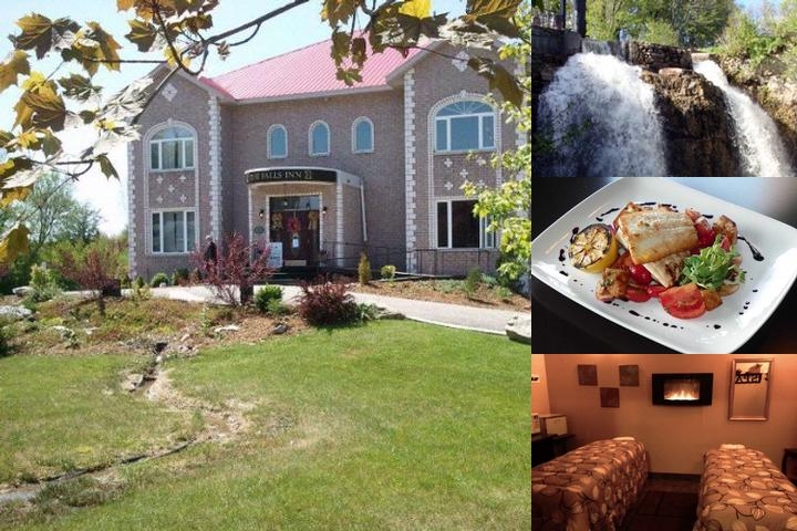 The Falls Inn & Spa photo collage