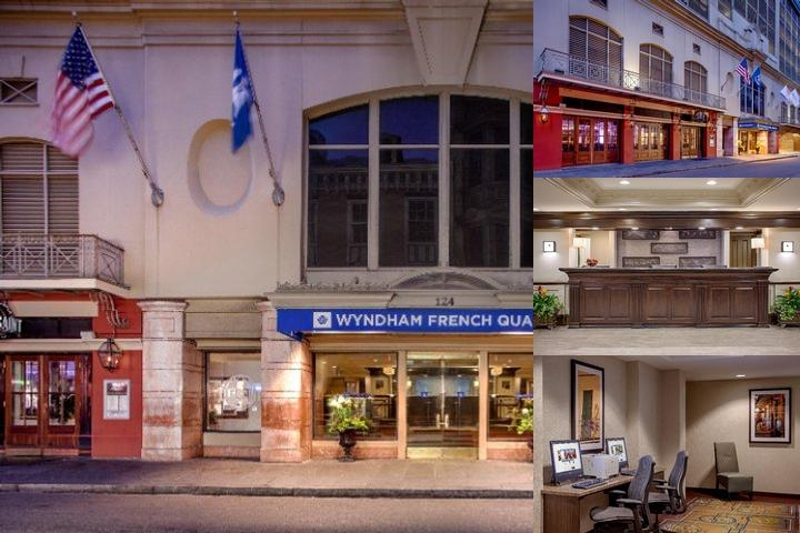 Wyndham New Orleans French Quarter photo collage