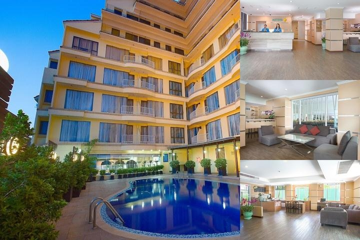Astera Sathorn Hotel photo collage
