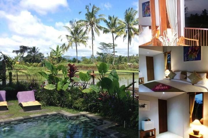 Villa Kemuning Ubud photo collage