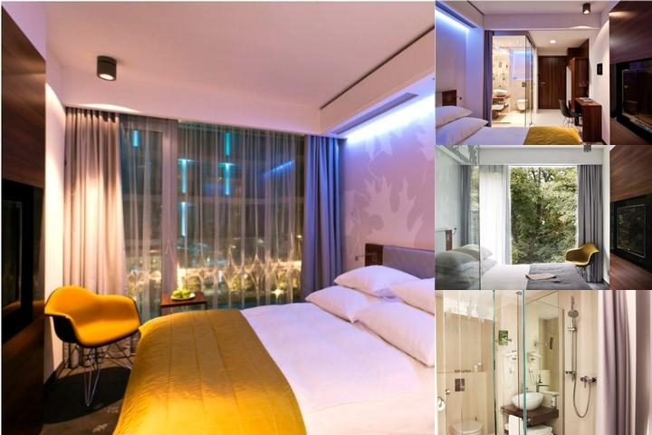 Puro Hotel Wroclaw photo collage