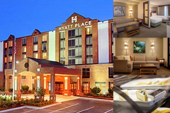 Hyatt Place San Antonio Airport / Quarry Market photo collage