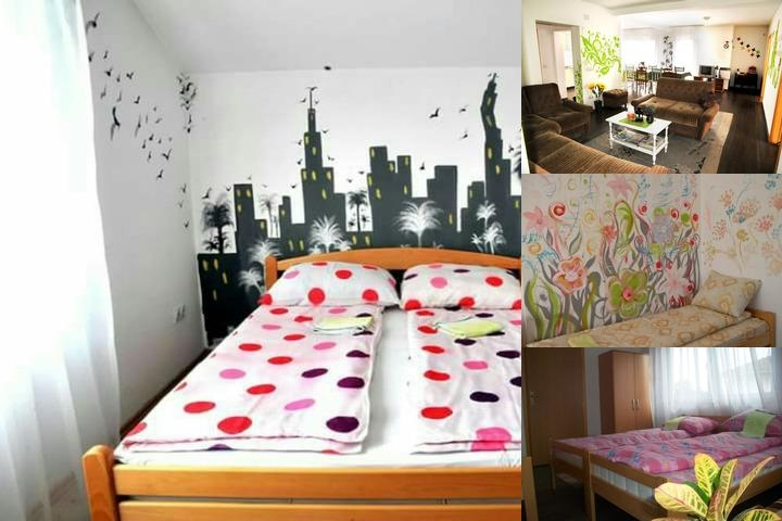 Hostel Room photo collage
