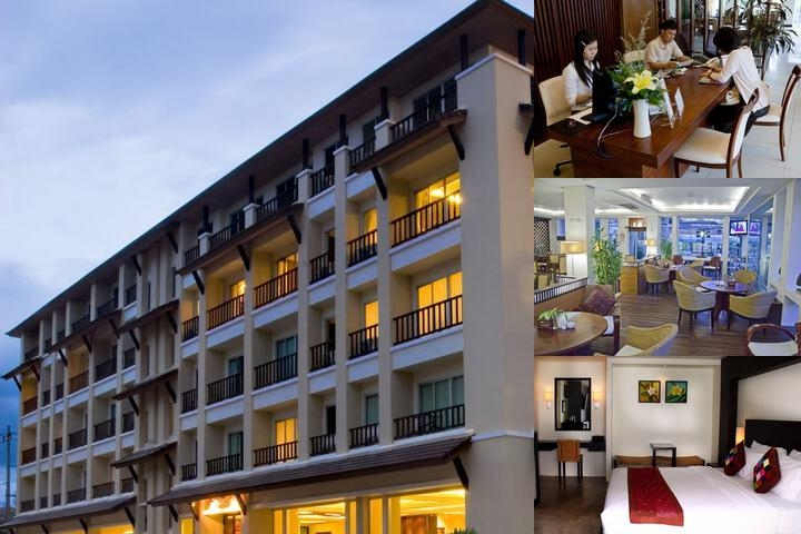 City Inn Vientiane photo collage