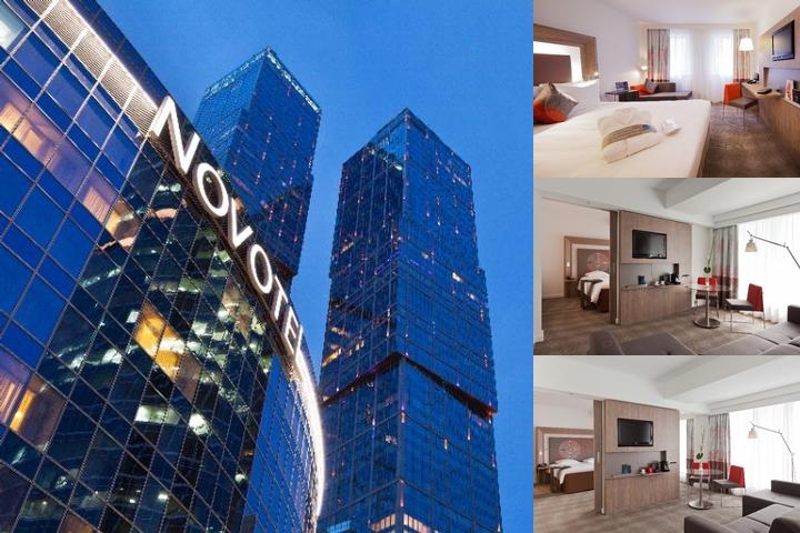 Novotel Moscow City photo collage