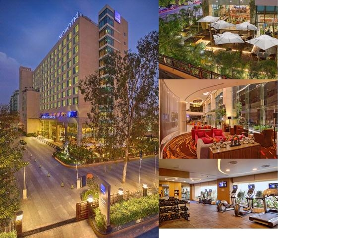 Hotel Novotel Ahmedabad photo collage