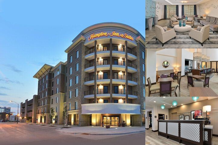 Hampton Inn & Suites Des Moines Downtown photo collage