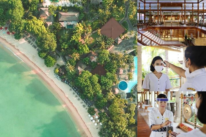 Melia Bali photo collage