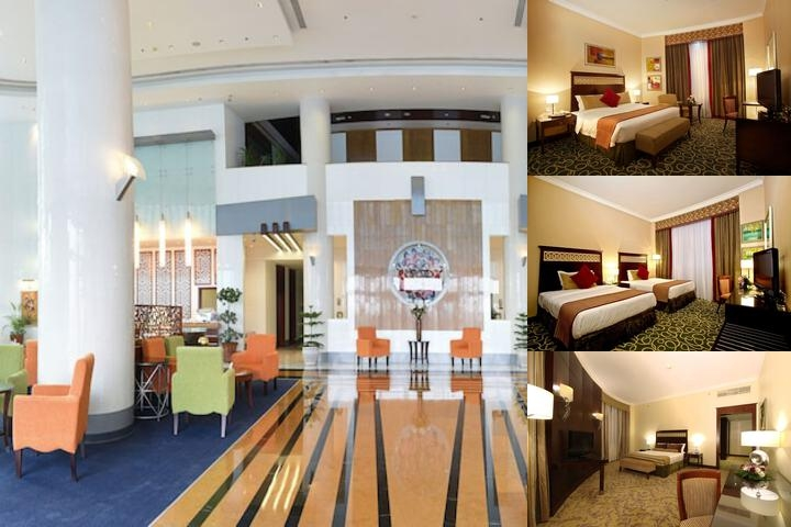 Concorde Fujairah Hotel photo collage