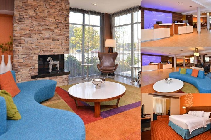 Fairfield Inn & Suites Calhoun photo collage