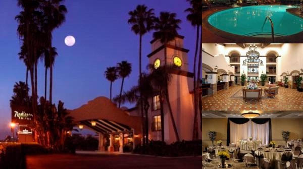 Radisson Suites Hotel Anaheim Buena Park photo collage